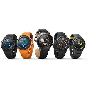ساعت هوشمند هوآوی مدل Watch 2 Concrete Grey | Huawei Watch 2 Concrete Grey SmartWatch