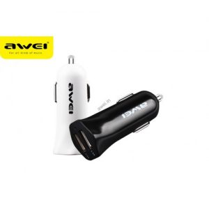 شارژر فندکی Awei C-300 Dual USB Car Charger
